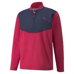 Pullover 1/4 zip Puma Cloudspun Stlth