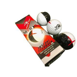 Set van 3 ballen EyeLine Golf