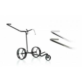 2-wiel handmatig karretje van carbon JuCad