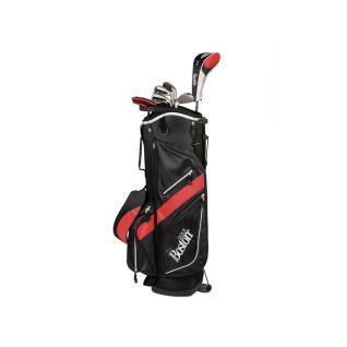 """Kit (tas + 8 clubs) linkshandig Boston Golf deluxe 8.5"""" 1/2 série"""