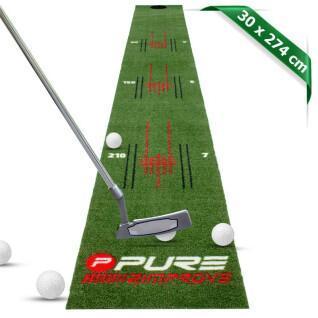 Putting mat Pure2Improve Perfect Stroke 275x30cm