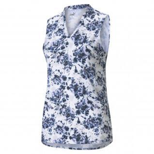 Damespolo Puma Floral Tie